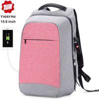 Рюкзак Tigernu T-B3335 с USB портом и отделением для ноутбука 15.6''