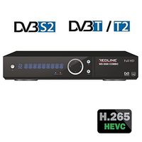 WS 8500 Combo HDTV DVB-S2 / DVB-T2 HEVC H.265 HD Redline