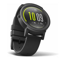 Часы Mobvoi Ticwatch E Smartwatch Shadow Black, WF12086