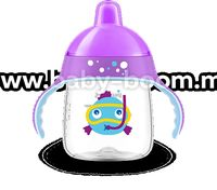 Avent SCF753/06 Чашка с носиком, мягкие ручки, клапан от протекания, 260 мл. 1шт, 12 мес+3