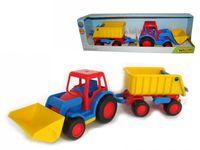 ПБ 37657 Трактор-погрузчик с прицепом