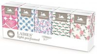 Платочки носовые Harmony Parfumate 3 слоя Gentelmen's / Ladies's