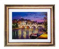 """Mosaic """"puzzle"""" 500 + cadru """"Paris"""" (puzzle plastic), cod 40801"""