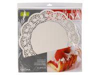 Салфетки сервировочные бумажные Cucina 12шт, D36cm