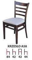 Деревянный стул A58