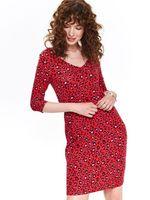 Платье TOP SECRET Красный dsu0093