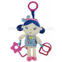 "Baby Mix STK-18871G BLUE  Игрушка для путешествия ""Девочка"""
