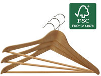 Набор вешалок деревянных FSC 3шт, 45X23cm