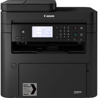 Canon i-Sensys MF267dw, Printer/Copier/Scanner, A4, Print Resolution: 600 x 600 dpi, Recommended 2500 pages/month, Interface: USB 2.0 Hi-Speed