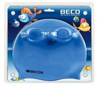 Set de ochelari si casca din silicon pt copii Beco 9904 (5321)