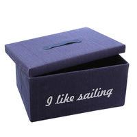 cumpără Cutie cu tematică maritimă 350x250x450 mm, albastru în Chișinău