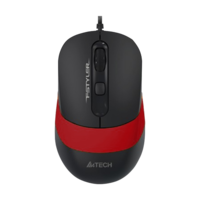 Мышь A4Tech FM10 Black/Red