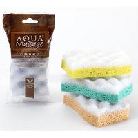 мочалка для тела Aqua Massage Corpo Tonica Мягкая, из целлюлозы с тонизирующим эффектом