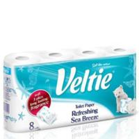 Veltie бумажные полотенца, 8 рул., 2 слоя