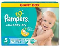 Pampers Active Baby Junior  5 (11-18 кг.) 78 шт.