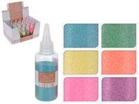 Глиттер декоративный цветной Grafit 55g
