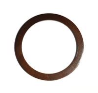 Mâner din lemn, cafeniu închis / 15 cm