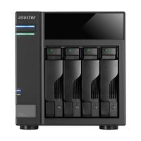 """4-bay NAS Capacity Expander  ASUSTOR """"AS6004U"""" - USB Expansion Unit, 2.5""""/3.5""""SATA x4 (Hot Swap), USB 3.0 (USB3.1 Gen-1) Type B  // *NAS series supporting expansion of up to 3 units: AS31/32/50/51/61/62/63/64/70"""
