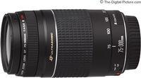 Zoom Lens Canon EF  75-300mm f/4.0-5.6 III USM