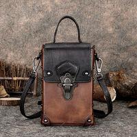 Женская сумка  из воловьей кожи, ретро  модная сумка