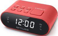 Часы-будильник MUSE M-10 RED