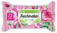 Салфетки влажные Freshmaker ECO 72