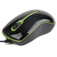 Мышь Gembird MUS-U-004-G, USB (Black/Green)