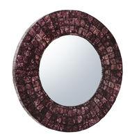 купить Зеркало круглое, 750x32x750 мм, ротанг в Кишинёве