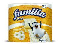 Familia туалетная бумага 2 слоя, 8 рулона