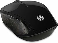 HP 200 Black Wireless Mouse
