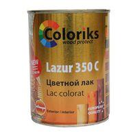 Лак цветной Lazur 350 C Coloriks 101 0.75л (желтый)
