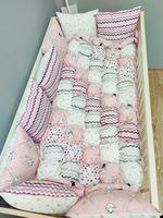 Комплект постельного белья в кроватку Pampy Bombon
