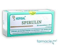 Crema pt fata Hofigal Spirulin Regeneranta (toate tip.ten,dermatite,acnee) 30 doze x 2ml