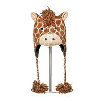 Шапка взрослая Knitwits Geoff The Giraffe Pilot Hat, А1090