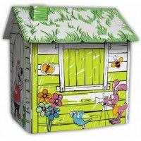 Картонный домик-раскраска HAPPY FARM 88x72x88 см