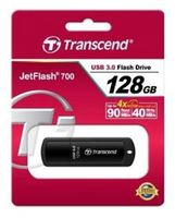 Flash Drive Transcend JetFlash 700 Black 128Gb