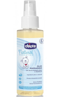 Chicco масло для массажа Natural Sensation, 100мл