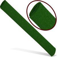 INTERDRUK Бумага креповая INTERDRUK Premium 200x50см т. зеленая