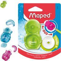MAPED Точилка MAPED Loopy Duo, с контейнером, блистер