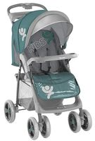 Bertoni Foxy with cover Green&Gray Kids