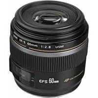 Prime Lens Canon EF-S 60mm, f/2.8 USM Macro Lens