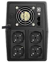 "UPS MUSTEK PowerMust 2000 Line Interactive  LED (2000VA / 1200W), Schuko(4), AVR, USB, ""2000-LED-LI-T10"""