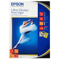 A4 300g 15p EPSON Ultra Glossy Photo Paper, C13S041927