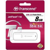 купить Transcend JetFlash 370 8GB Glossy White (Read 18mb/s; Write 10mb/s) в Кишинёве