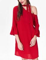 Платье TOP SECRET Красный SSU2394CE