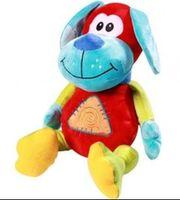 BabyOno игрушка велюровая с погремушкой Собачка