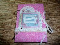 Дневник/альбом розовый