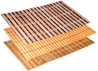 Салфетка сервировочная бамбуковая 45X30cm, полоски