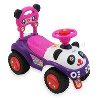 Baby Mix UR-7601 Машинка Панда розовая