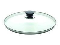 Крышка стеклянная 32сm Ballarini с металлич кольцом